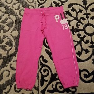 Victoria Secret Pink Capris